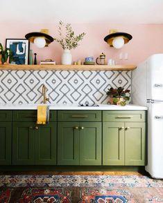 "Real Homes on Instagram: ""Gorgeous! Total kitchen envy . . Photo: @dabito . .…"""