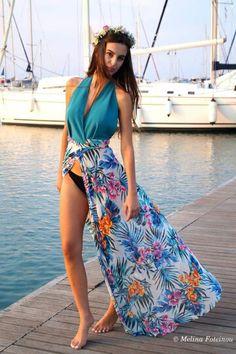 Summer flowy dress