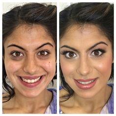 Transformationtuesday Transformation Bridesmaid Beforeandafter Makeup Makeover Hdmakeup Hdairbrushmakeup MakeoverLong IslandWedding