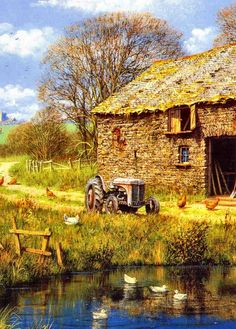 The Tractor by Edward Hersey