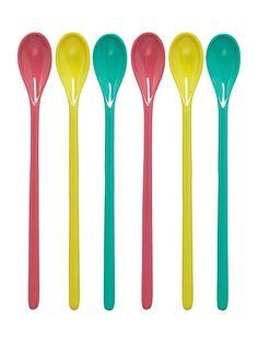 Ice cream spoons set of 6