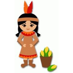 Silhouette Design Store - View Design #68269: detailed native american girl