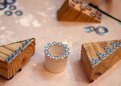Diy hardware stamps.. & tonnes of other ideas on this site!