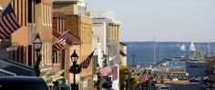 Annapolis- Enjoy a stroll down Main Street to City Dock.