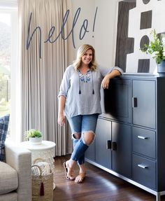 North Ranch Project Reveal: Moody Living Room by Los Angeles Interior Designer Lindsey Brooke Design Casual Family Rooms, Crypton Fabric, Woven Chair, Ranch Remodel, Modern Ranch, Modern Kids, Little Girl Rooms, Formal Living Rooms, Dream Rooms