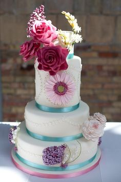 Tia Mowry Wedding Cake