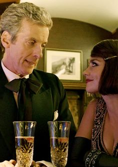 The Twelfth Doctor and Clara - Mummy on the Orient Express