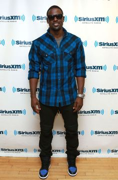 Lance Gross wearing Air Jordan Retro I 1 High OG Royal Jordan 1 Royal 31353ae606