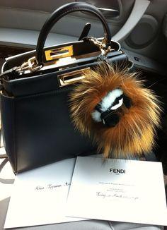 Handbags   Wallets - Handbags Wallets - My Fendi Peekaboo little monster  Kooky. - How should we combine handbags and wallets  3443f036aae3c