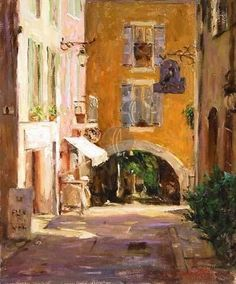 Provence Marchand - Limited Edition Giclée on Canvas - 24 x 20