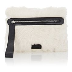 Marc by Marc Jacobs Fur Zip Pouch (12,445 MXN) ❤ liked on Polyvore featuring bags, handbags, clutches, multi, fur clutches, fur purse, fur handbag, zipper purse and marc by marc jacobs