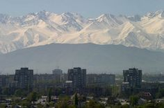 Bishkek, Kyrgyzstan. I lived here for a few months, it was an interesting experience.