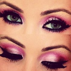 JennieGirlStyle's haute pink eye makeup with Mac and motives #jenniegirlstyle #trends2015 #musthave #beauty #fashion #classy #gifts #women #giftsforher #wishlist #girlygirl #makeup #celebrity #celeb #trending #popular  #holidaygifts #beautyjunkie #cosmetics #beautyproducts #beautyhacks #eyeshadow #perfume #lipstick #eyes