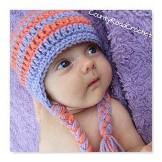 dfc7b50d437 School Colors Hat Custom Colors Beanie Baby Girl Hat Preemie Newborn  Toddler Kid Sizes Baby Winter H
