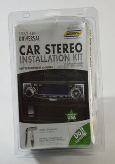 #buyitnow #ebay Metra - Installation Kit for Select 1982-UP Universal Kit - Black #Metra