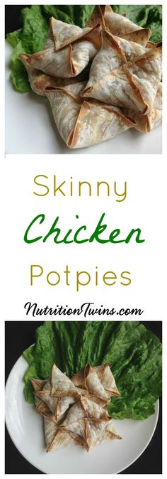 Skinny Chicken Pot Pie | Crunchy & Guilt-free | Only 56 Calories for 2 | For MORE RECIPES, fitness & nutrition tips please SIGN UP for our FREE NEWSLETTER www.NutritionTwin...