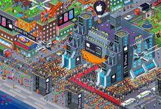 city pixel - Поиск в Google
