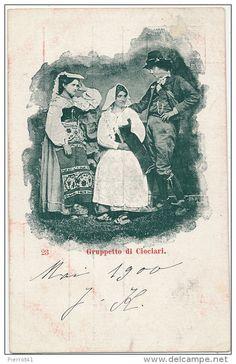 Gruppetto di CIOCIARI (1900)