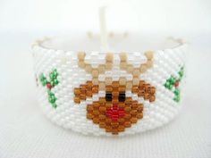 Tea Light Cover Cozy Candle Sleeve Beadwork by MadeByKatarina, $25.00