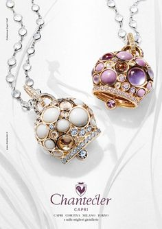 The Chantecler bells from Capri have been loved by such stars as Ingrid Bergman and modern day starlets. I have a soft spot for them.