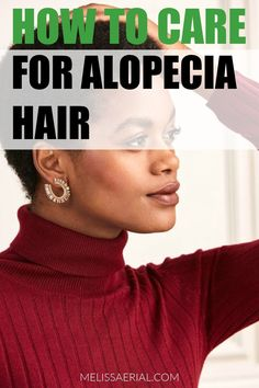 How you can care for alopecia hair and help it grow. #alopecia #haircare Natural Hair Growth Tips, Natural Hair Types, Natural Hair Regimen, Long Natural Hair, Healthy Hair Growth, Growing Long Hair Faster, Hair Topic, Natural Hair Moisturizer, Best Hair Mask