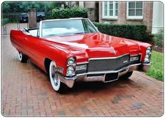 1968 Cadillac DeVille convertible Maintenance/restoration of old/vintage vehicles: the material for new cogs/casters/gears/pads could be cast polyamide which I (Cast polyamide) can produce. My contact: tatjana.alic@windowslive.com