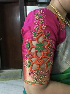 embroidery sarees, sari fashion,  ladies kurtis@ http://ladyindia.com