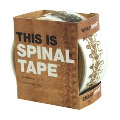Someone you know is going to think this is literally the funniest joke in the history of time. This is Spinal Tape, $8