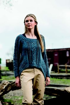 Joan of Arc Sweater - Media - Knitting Daily