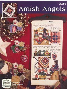 Encontrado en megghy.com Schema punto croce Amish Angels 01