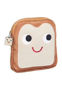 That bread charm zip pull :) Happy Toast Lipstick Case from Peter Alexander