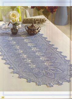 World crochet: Tablecloth 43