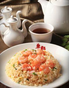 蝦仁炒飯  Shrimp fried rice   えび入りチャーハン  Photo By Vicki Li