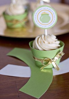 Erica's Sweet Tooth » Bailey's Irish Cream Cupcakes