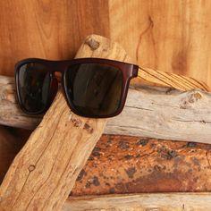 Wayfarer Style Brown Frame and Grey Lens Wood Sunglasses South Africa, Wayfarer, Sunglasses Case, Bamboo, Lens, Grey, Brown, Wood, Frame