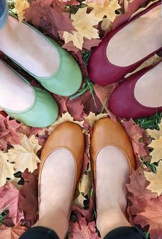 Flats in ALL the best Fall colors!