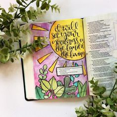 """94 Likes, 6 Comments - Doodles by Jillian (@doodlesbyjillian) on Instagram: """"//I will see Your goodness in the land of the living// #theletteringlife #lettering #handlettering…"""""""