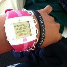 I need one of these! Polar Fitness Watch