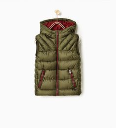 Basic gilet - Quilted-OUTERWEAR-BOY | 4-14 years-KIDS | ZARA Mexico