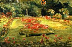 The Terrace in the Wannsee Garden toward the North Max Liebermann - circa 1923