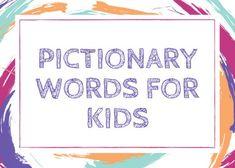 Summer pictionary cards   Classroom Ideas   Pictionary ...
