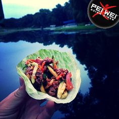 WRAP WHERE YOU WANT. Upload photos of where you take your Pei Wei lettuce wraps on the go to enter our Snap Your Wrap Photo Contest. $50 prizes every day. Enter often by clicking the image or visiting: www.peiwei.com/contest