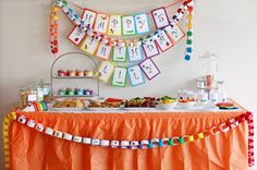 Rainbow of Bugs Printable Birthday Party