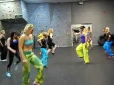 La Cumbia Tribalera Dance Fitness Choreography.AVI