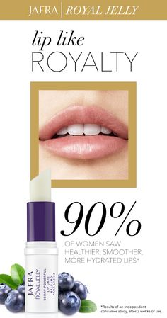 You're going to want to keep this balm close. See why Berry Powerful Lip Care is your new go-to! #JAFRA #RoyalJelly