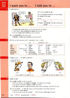 English Textbook, English Grammar Tenses, Teaching English Grammar, Grammar And Vocabulary, Grammar Lessons, English Language Learning, English Vocabulary, English Units, English Book