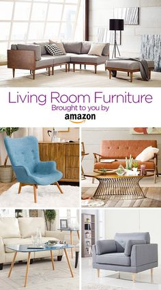 Find furniture that fits your living room style. From chairs to couches and great accent pieces.