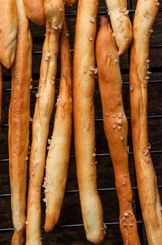 Homemade Pretzel Sticks from www.sprinkledsideup.com