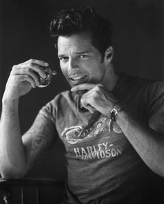 Ricky Martin, humanitarian, talented, humble and sexy!!! What more would anyone want???