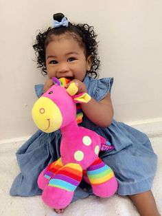 Babies with Natural Hair, Hair Styles for Kids, Beautiful Girl Cute Hairstyles For Kids, Baby Girl Hairstyles, Cute Kids, Cute Babies, Baby Kids, Beautiful Black Babies, Beautiful Children, Blasian Babies, Biracial Babies